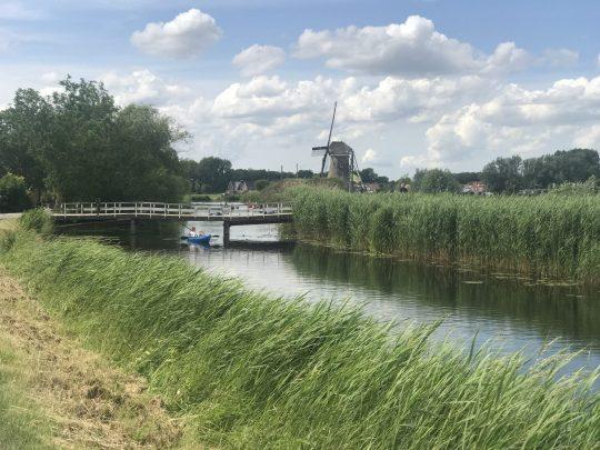Fietsroute fietsblog review Gouda Krimpenerwaard molen