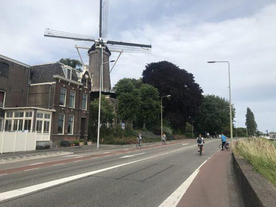 Fietsroute fietsblog review Gouda Krimpenerwaard Gouda stellingmolen slot