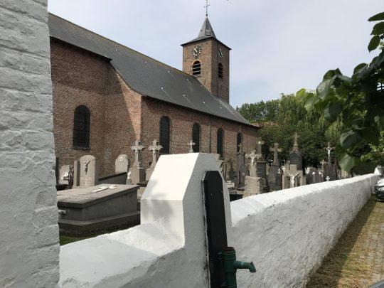 Fietsroute fietsblog review polder oude dijken Vlissegem kerk