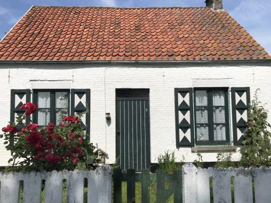 Fietsroute fietsblog review polder oude dijken oude woning