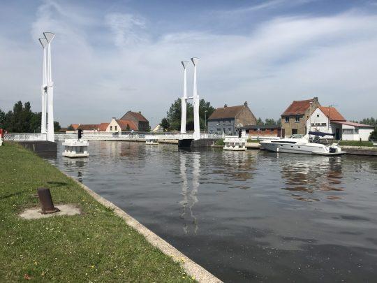 Fietsroute fietsblog review polder oude dijken kanaal Stalhillebrug