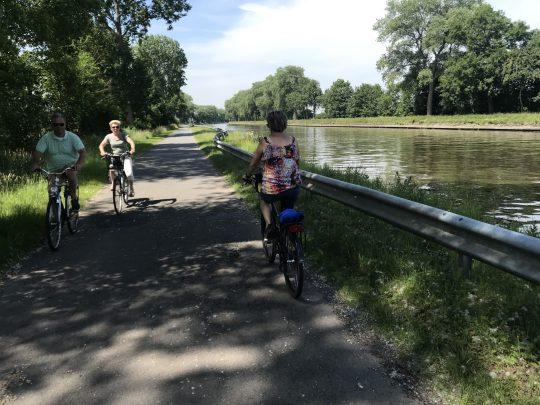 Fietsroute fietsblog review polder oude dijken kanaal Brugge-Oostende