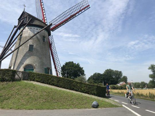 Fietsroute fietsblog review polder oude dijken witte molen