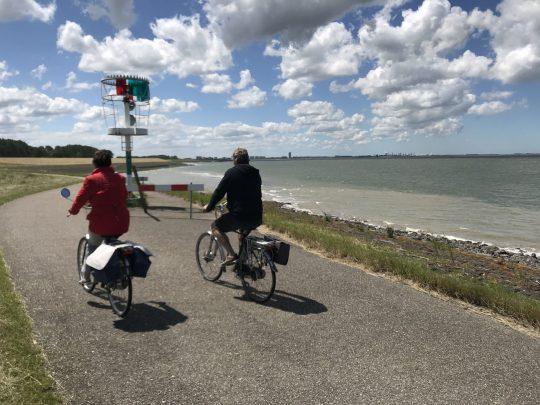Fietsroute fietsblog review Griete semafoor