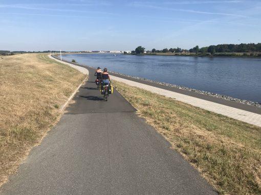 Fietsreis fietsblog review Weser weserradweg Bremen fietspad