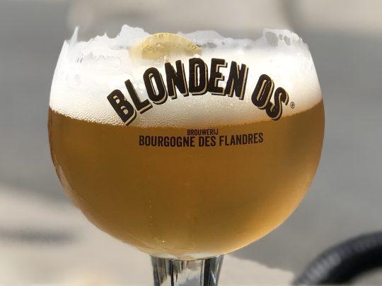 Fietsroute fietsblog review Blonden Os Brouwerij Bourgogne des Flandres