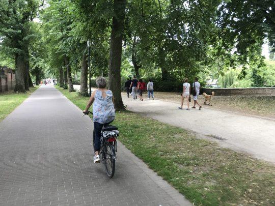 Fietsroute review fietsblog Brugge stadsvesten fietsen