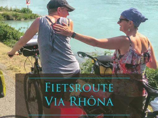 ViaRhona fietsroute reisblog reisverslag fietsreis fietsreis