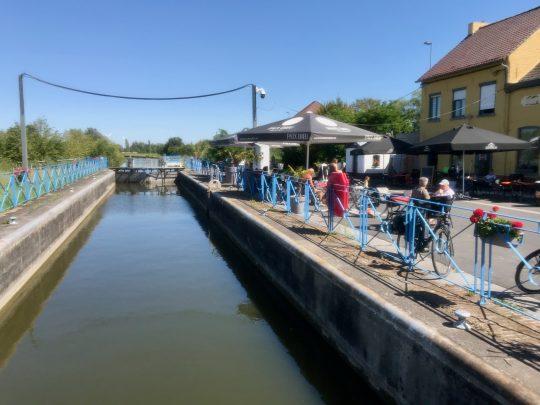 Fietsroute, fietsblog, review, Spierevalleiroute, Leers-Nord, Spierekanaal