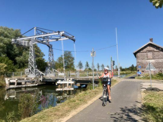 Fietsroute, fietsblog, review, Spierevalleiroute, Saint-Léger, Spierekanaal