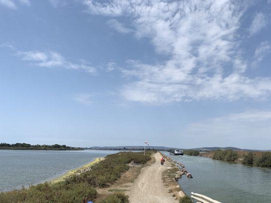 Fietsreis reisverslag viarhona dagboek Camargue kanaal Canal du Rhône à Sète