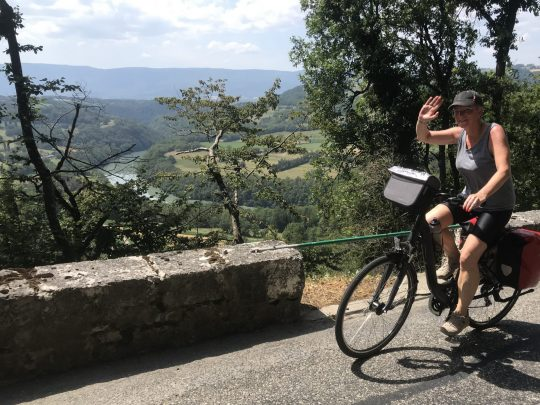 Fietsreis reisverslag viarhona dagboek Jura fietsen