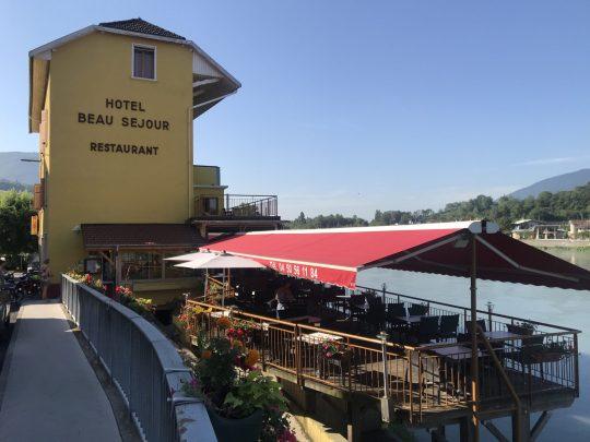 Fietsreis reisverslag viarhona dagboek hotel beausejour beauséjour