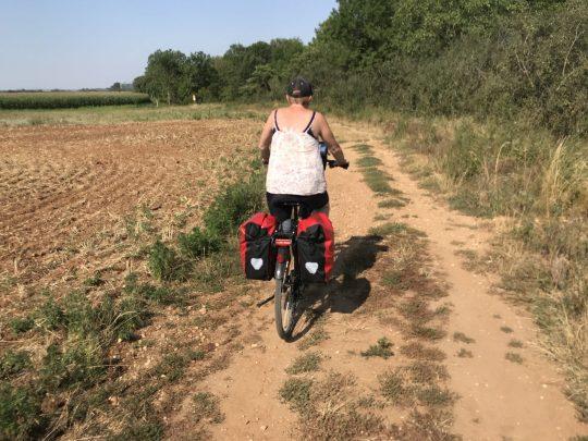Fietsreis reisverslag viarhona viarhôna dagboek