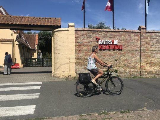 Fietsroute fietsblog review kust Raversyde Atlantikwall