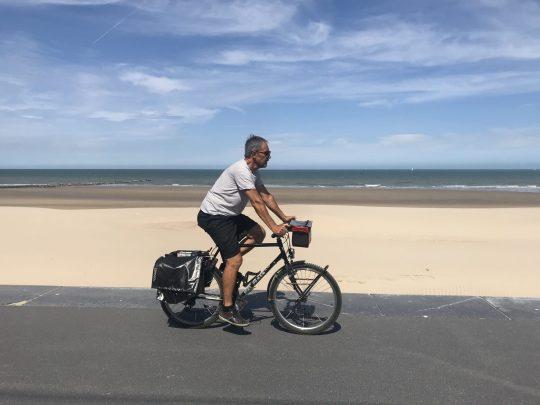 Fietsroute fietsblog review Raversijde zeedijk