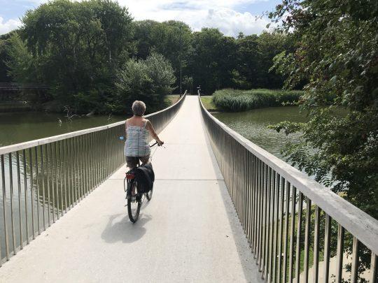 Fietsroute fietsblog review Oostende Maria-Hendrikapark Mandelabrug