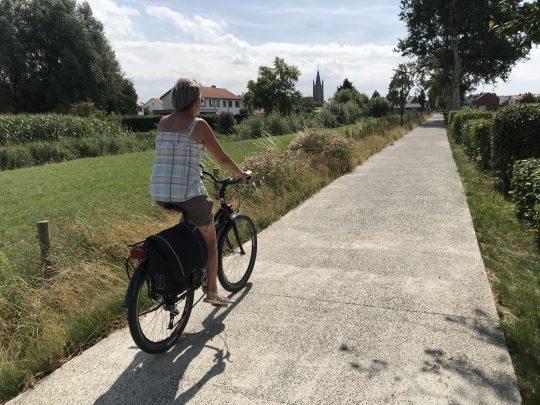 Fietsroute fietsblog review Leffinge