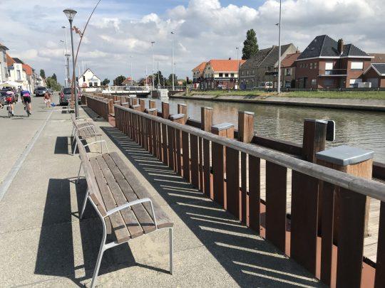 Fietsroute fietsblog review kust kanaal Leffinge