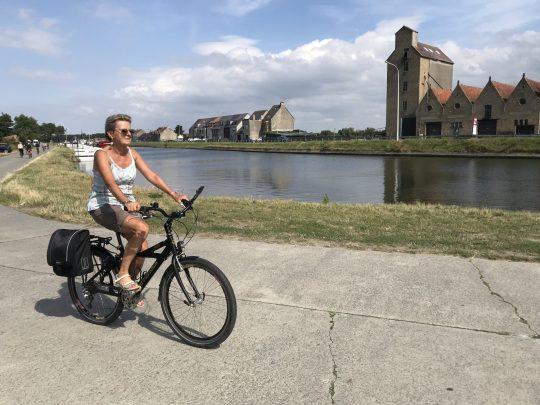 Fietsroute fietsblog review kust Nieuwpoort vaart Plassendale kanaal