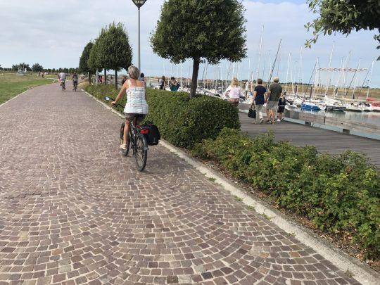 Fietsroute fietsblog review kust Nieuwpoort haven