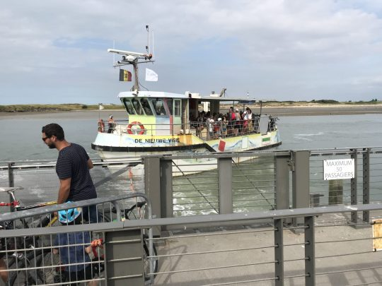 Fietsroute fietsblog review kust Nieuwpoort veer