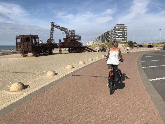 Fietsroute fietsblog review kust Westende