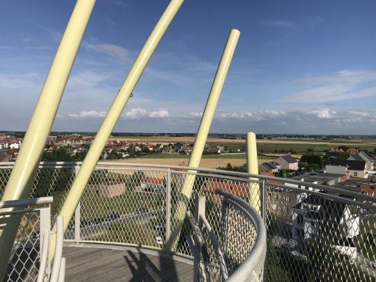 Fietsroute fietsblog review kust Middelkerke Warandetoren