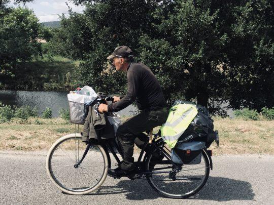 Fietsreis reisverslag viarhona dagboek