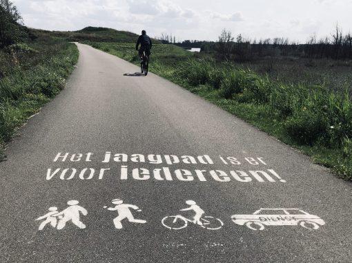 Fietsroute fietsblog review jaagpad Schelde