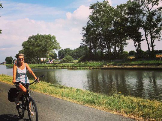 Fietsroute fietsblog review kust kanaal Plassendale Nieuwpoort