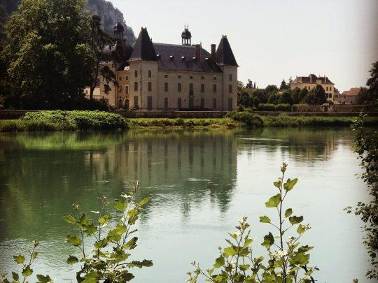 Fietsreis reisverslag viarhona dagboek Vertrieu kasteel