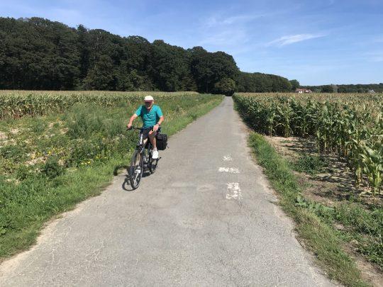 Fietsroute fietsblog review hoppestreek Buggenhoutbos