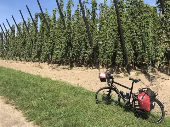 Fietsroute fietsblog review Hoppestreek