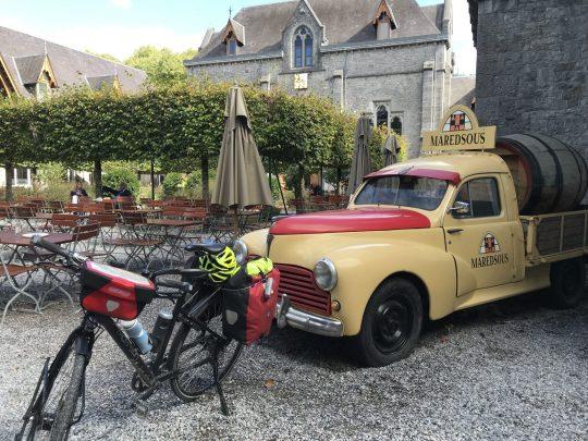 Fietsroute fietsblog review recensie abdij Maredsous
