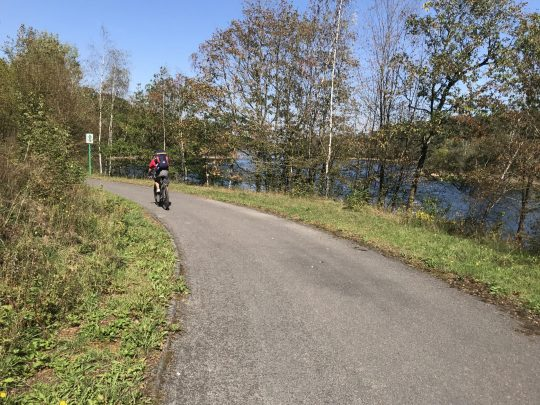 Fietsroute fietsblog review recensie lacs eau d'heure