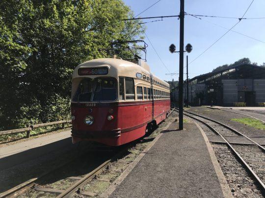 Fietsroute fietsblog review recensie Thuin trammuseum