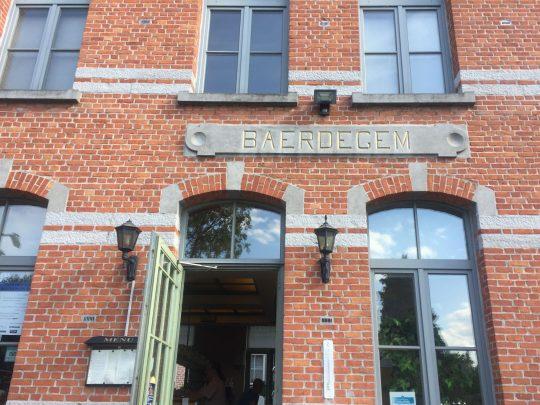 Fietsroute fietsblog review Baerdegem station