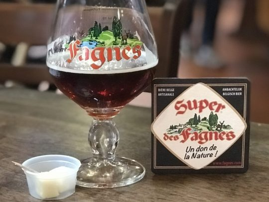 Fietsroute fietsblog review recensie Mariembourg brouwerij brewery Fagnes