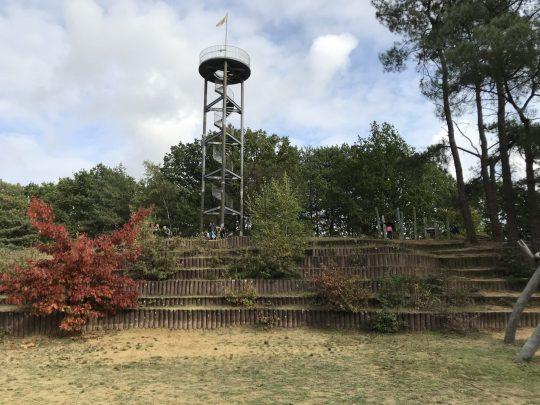 Fietsroute, fietsblog, review, Gerhagen, natuurgebied, uitkijktoren