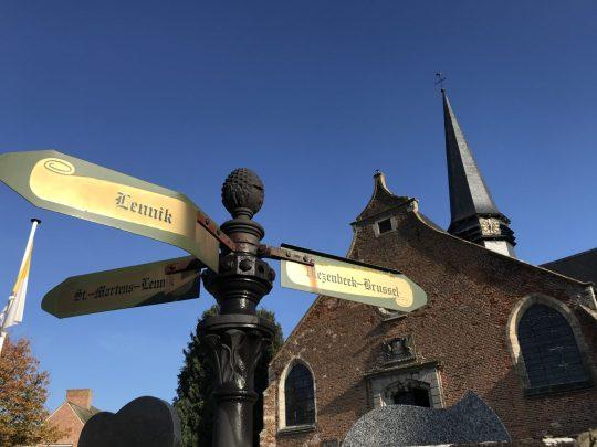 Fietsroute fietsblog Zuunbeekroute review Gaasbeek Onze-Lieve-Vrouwkerk