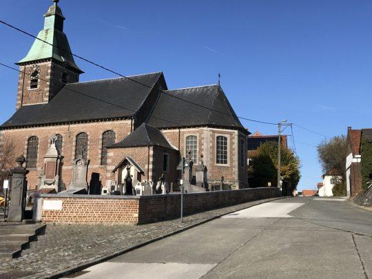 Fietsroute fietsblog review Zuunbeekroute Beert Onze-Lieve-Vrouwkerk