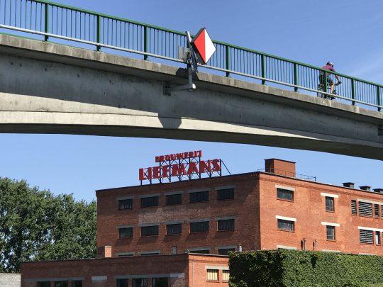 Fietsroute, fietsblog, review, Scheldevallei, brouwerij Liefmans