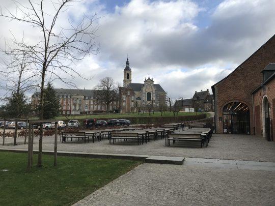 Fietsroute reisverslagen fietsblog review fietslus fietsverslagen Natuurpark Gerhagen Abdij Averbode Het Moment