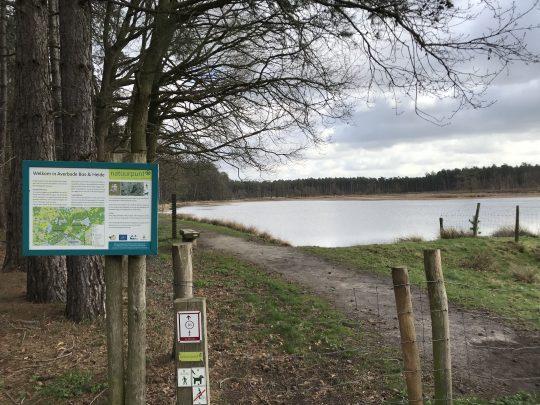 Fietsroute reisverslagen fietsblog review fietslus fietsverslagen Natuurpark Gerhagen Averbode Bos en Heide