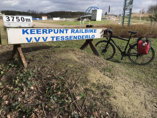 Fietsroute reisverslagen fietsblog review fietslus fietsverslagen Natuurpark Gerhagen Railbike Tessenderlo