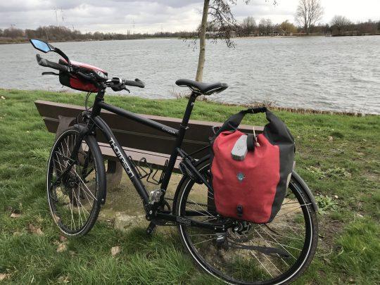 Fietsroute reisverslagen fietsblog review fietslus fietsverslagen Natuurpark Gerhagen Paalse Plas