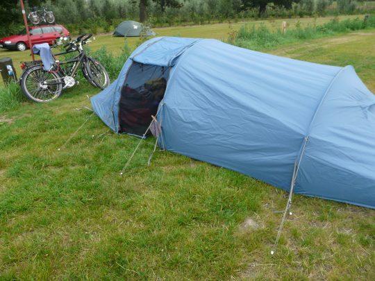 Fietsreis fietsroute review reisverslag fietsbedevaart Romereis kamperen