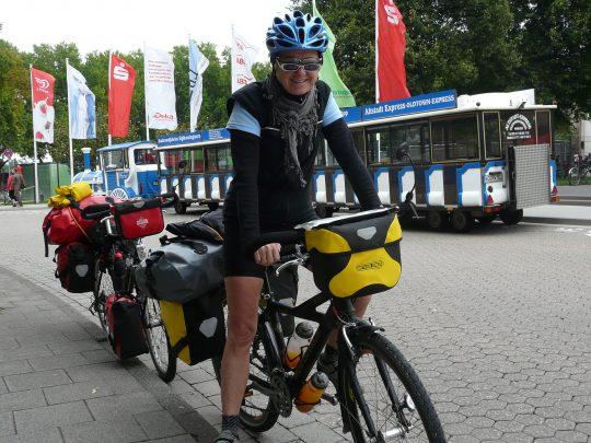 Fietsreis fietsroute review reisverslag fietsbedevaart Romereis Koblenz