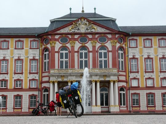 Fietsreis fietsroute review reisverslag fietsbedevaart Romereis Bruchsal
